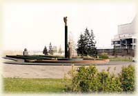 One of the competitive projects of Rezanov's monument (K. M. Zinich)